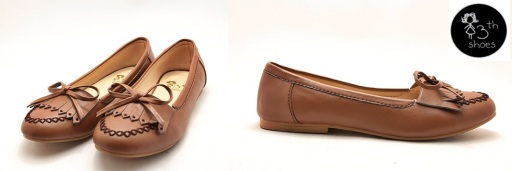 Brown Nail Loafer - 185