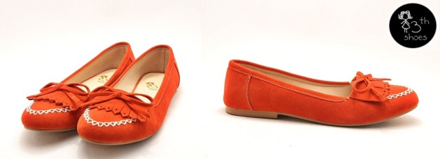 Orange Nail Loafer - 185