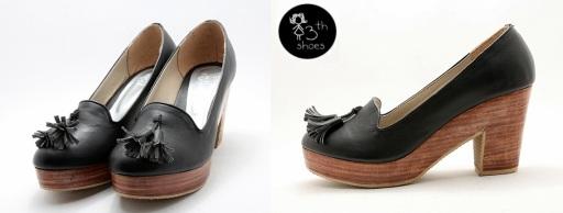 Black Tassel Clogs - Rp.315.000,- (USD 45)