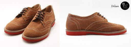 DBrown Suede Brogue - 325