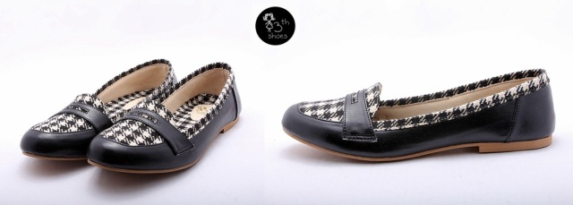 Slip on Houndstooth - 185