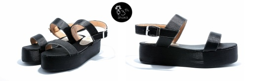 Black Strap Flatform - Rp.295.000,- (USD 45)