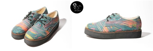 Green Abstract Flatform - 315