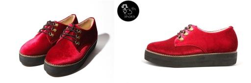 Red Velvet Flatform - 325