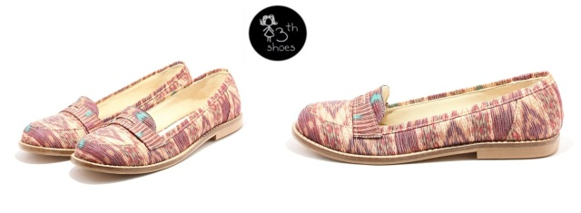 Slip on Purple Ikat - 245