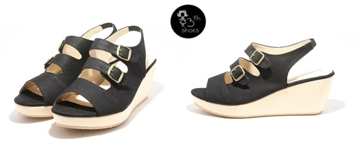 Black Ave Wedge - 295