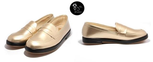 Gold Loafer - 265