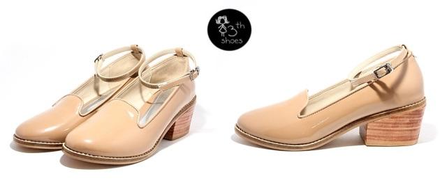 Nude Fleur Heels - 315