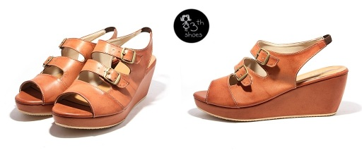 Tan Ave Wedge - 295