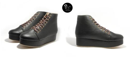 black boots flatform - 360